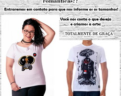 Camiseta Customizada! - Arte Gratis!