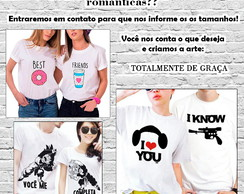 Camisetas Customizadas! - Arte Gratis!