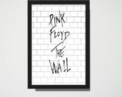 Quadro A3 Pink Floyd The Wall