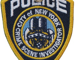 Chaveiro Nypd Distintivo Detetive Csi Nova New York PL60350C