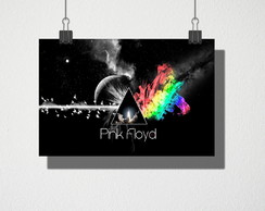 Poster A4 Pink Floyd