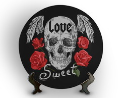 Prato Decorativo Love Sweet