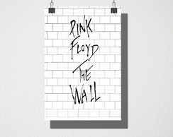 Poster A4 Pink Floyd The Wall