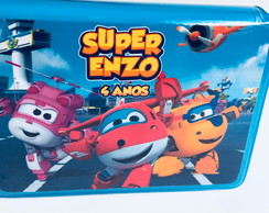 Estojo de colorir - super wings