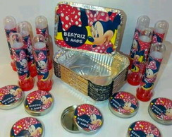 KIT FESTA PERSONALIZADO MINNIE MOUSE