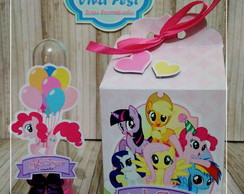 Kit Festa Personalizada - My Little Poney
