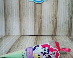 Cone redondo personalizado - My Little Poney