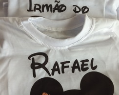 kit Camiseta personalizada mickey