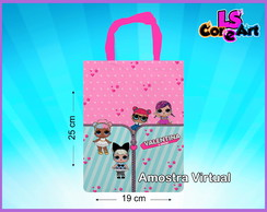 Mini Ecobag Personalizada - LOL