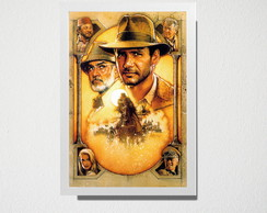 Quadro A3 Indiana Jones