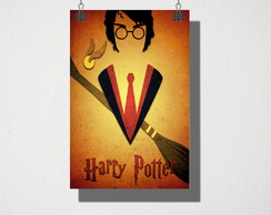 Poster A4 Harry Potter