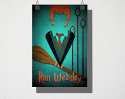 Poster A4 Ron Weasley