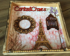Porta chaves e cartas - Paris