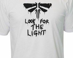 Camiseta vagalume the last of us geek nerd Retro