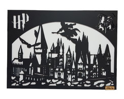 Luminária do Harry Potter - Hogwarts