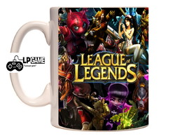 Caneca Porcelana League Legends
