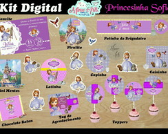 KIT DIGITAL PERSONALIZADO Princesinha Sofia