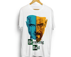 Camiseta Breaking Bad Camisa Séries Seriados