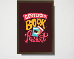 Quadro A3 Certified book addict