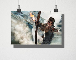 Poster A4 Tomb Raider