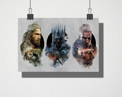 Poster A4 The Witcher