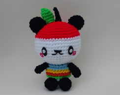 Pandapple (Hello Kitty) amigurumi