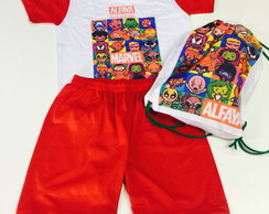 Kit Festa do Pijama vingadores