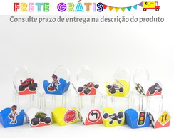 100 Forminhas para doces blaze and monster machine