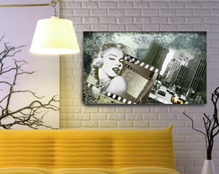Quadro Decorativo Marilyn Monroe 55x100 ( ID55-103)