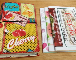 Kit Capa Planner Cherry