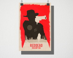 Poster A4 Read Dead Redemption