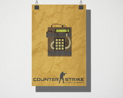 Poster A4 Counter Strike