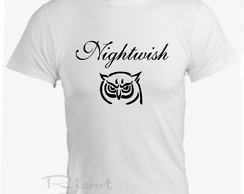 Camiseta Nightwish Bandas De Rock