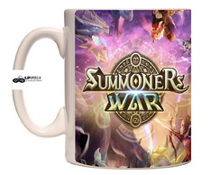 Caneca Porcelana Summoners wars