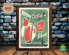 Quadro Vintage Cocktail 03
