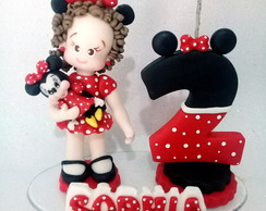 Vela de biscuit da minnie