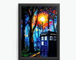 Quadro Decorativo Doctor Who Police cod15