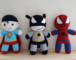 eduK - Amigurumi: super-heróis em crochê   Facebook   194x244