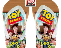 Toy Story Chinelo Personalizado Lembrancinha Adulto Infantil
