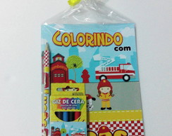 Livrinho Kit de colorir