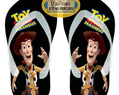 Toy Story Chinelo Aniversário Lembrancinha Woody Cowboy
