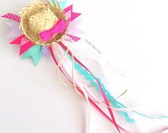 2d566c0378806 Sob consulta  Acessório de cabelo Festa Junina Mini Chapéu de Palha