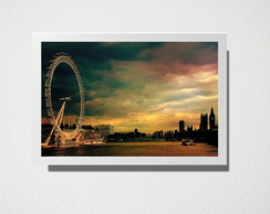 Quadro A3 London eye
