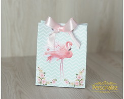 Caixa Sacola Flamingo Candy Color
