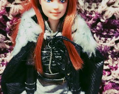 Barbie Sansa Stark custom OOAK