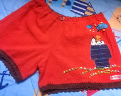 Short bordado adulto G ( 41 )