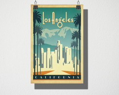 Poster A4 Los Angeles