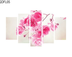 Quadro Decorativo Floreado Flores Rosas