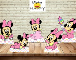 KIT MINNIE ROSA BABY -- MDF