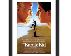 Quadro Karate Kid Filme Anos 80 Cinema Classico Retro Arte